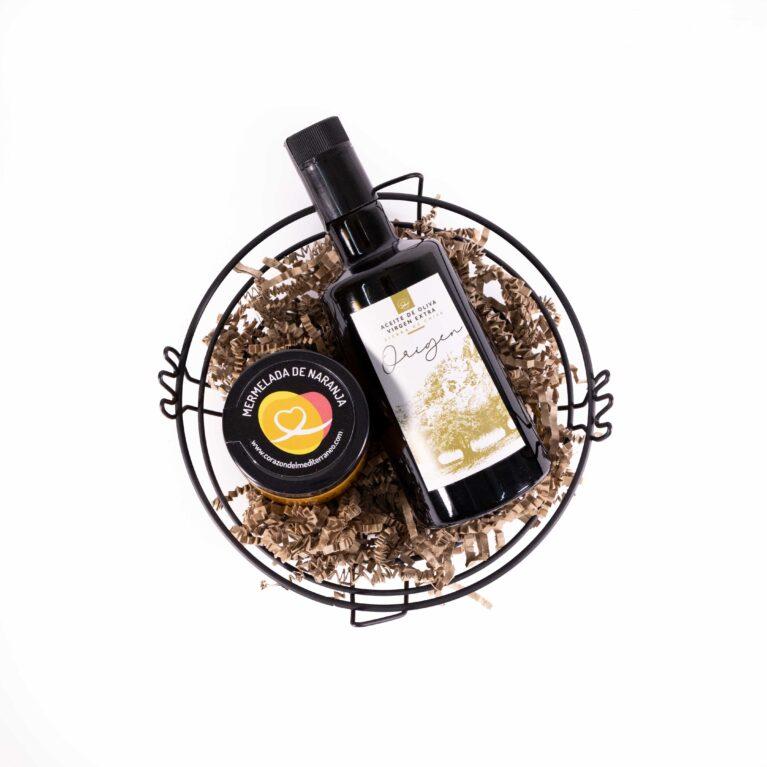 aceite de oliva y mermelada