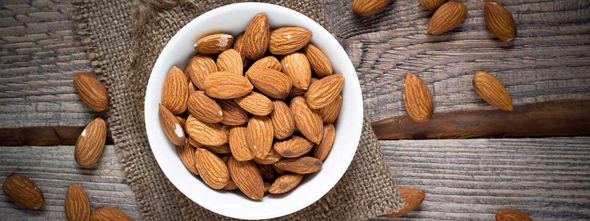 Almendras - Frutos secos ricos en proteínas