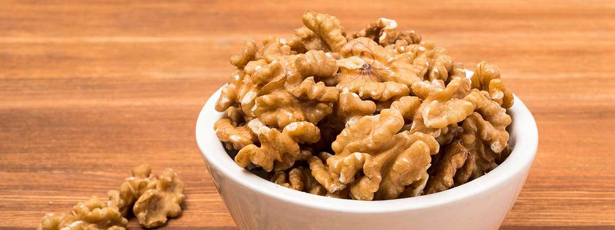 Nueces - Frutos secos ricos en proteínas